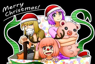 2015年クリスマス絵(差分)