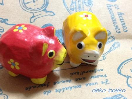 ゆぽぽさんより ボロ市豚さん 201512