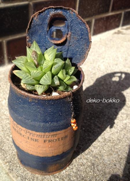 花鏡 haminちゃんリメ缶 201602