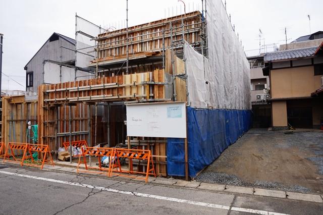 京都市北区|鉄筋コンクリート打ちっぱなし注文住宅