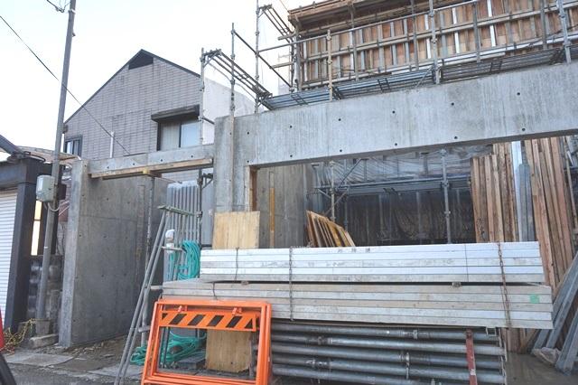 京都市北区の鉄筋コンクリート(RC造)打ちっぱなし注文住宅!