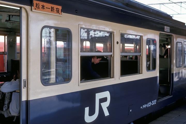 620405松本駅_新宿行き115系普通列車