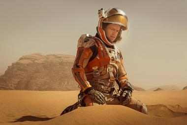 リドリー・スコット 『オデッセイ』 マット・デイモン演じるワトニーは火星にただひとり残されて……。