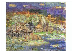半農の漁村