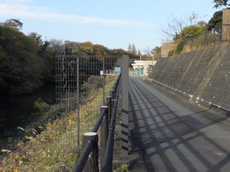静岡県企業局堂庭取水場