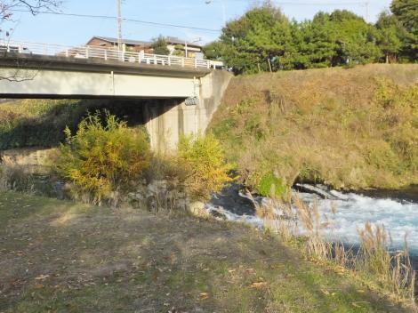 柿田川橋とアーチ型石橋