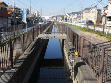 二郷半用水路・谷口橋