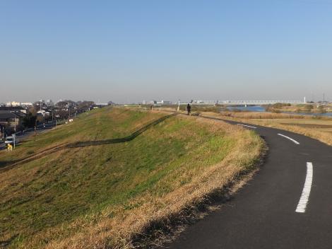 江戸川・三郷排水機場付近