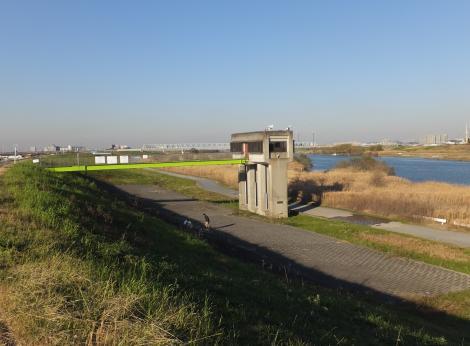 三郷浄水場取水樋管