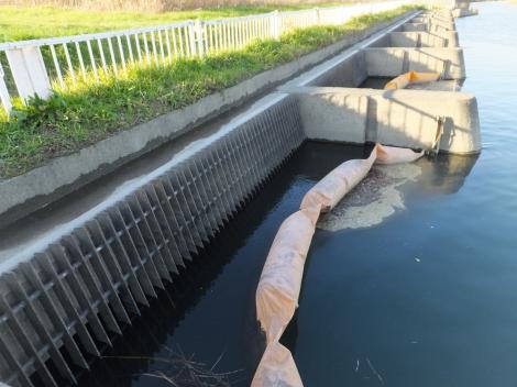 三郷浄水場江戸川取水口