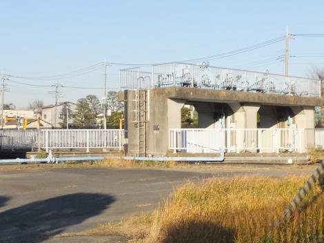 東京都水道局三郷浄水場沈砂池