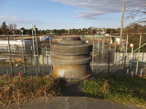 砧浄水場取水施設