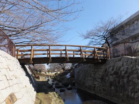 二ケ領用水路・紺屋橋