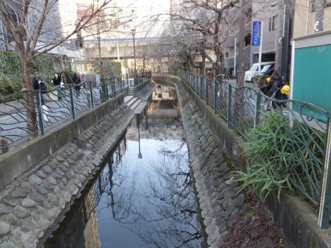 二ケ領用水・川崎堀、曙橋