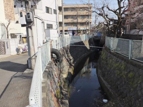 旧三沢川・府中街道付近