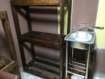 水槽棚の塗装03