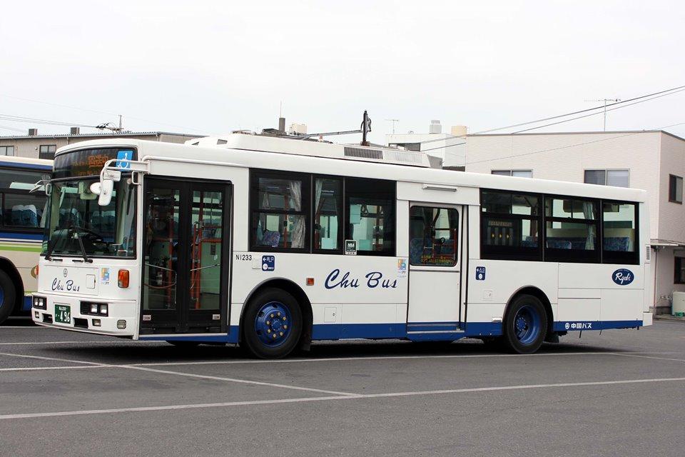 中国バス N1233
