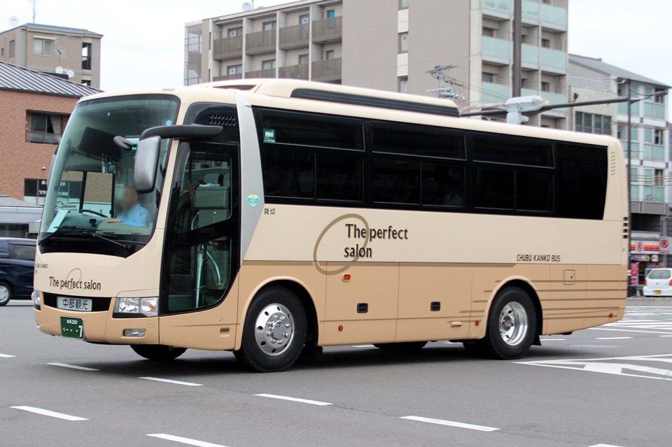 中部観光バス う7
