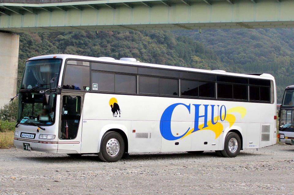 鹿児島中央観光バス か886