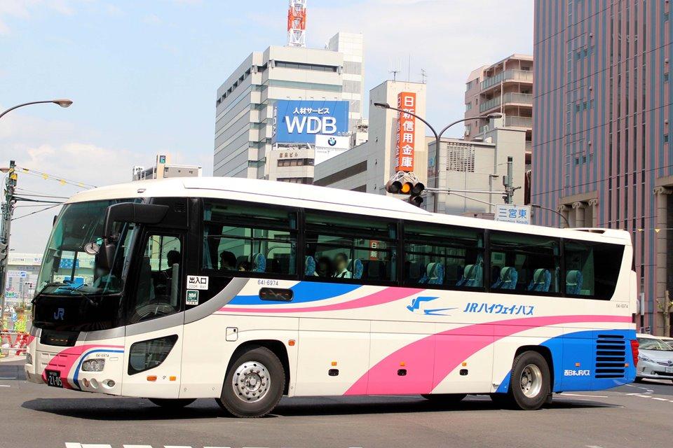 西日本JRバス 641-6974