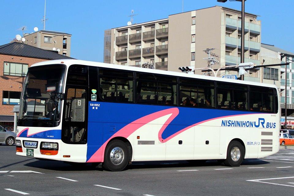 西日本JRバス 641-8952