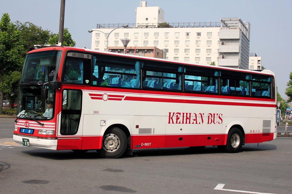 京阪バス C-3827