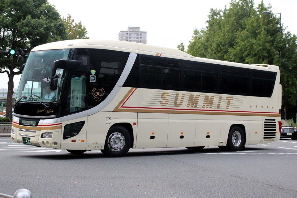 滋賀中央観光バス い507
