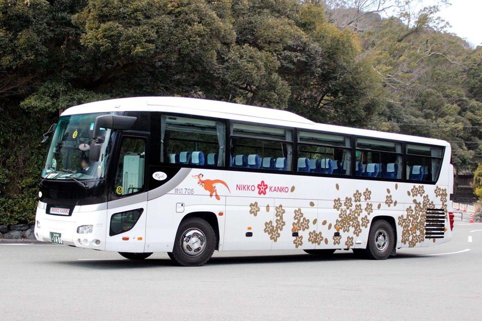 ニッコー観光バス 705