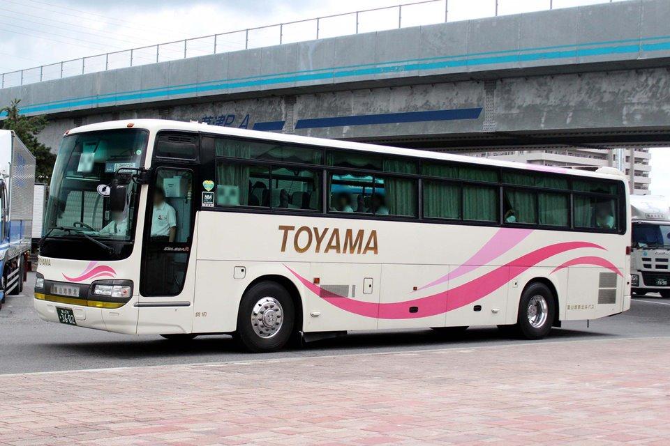 富山地鉄北斗バス あ3602