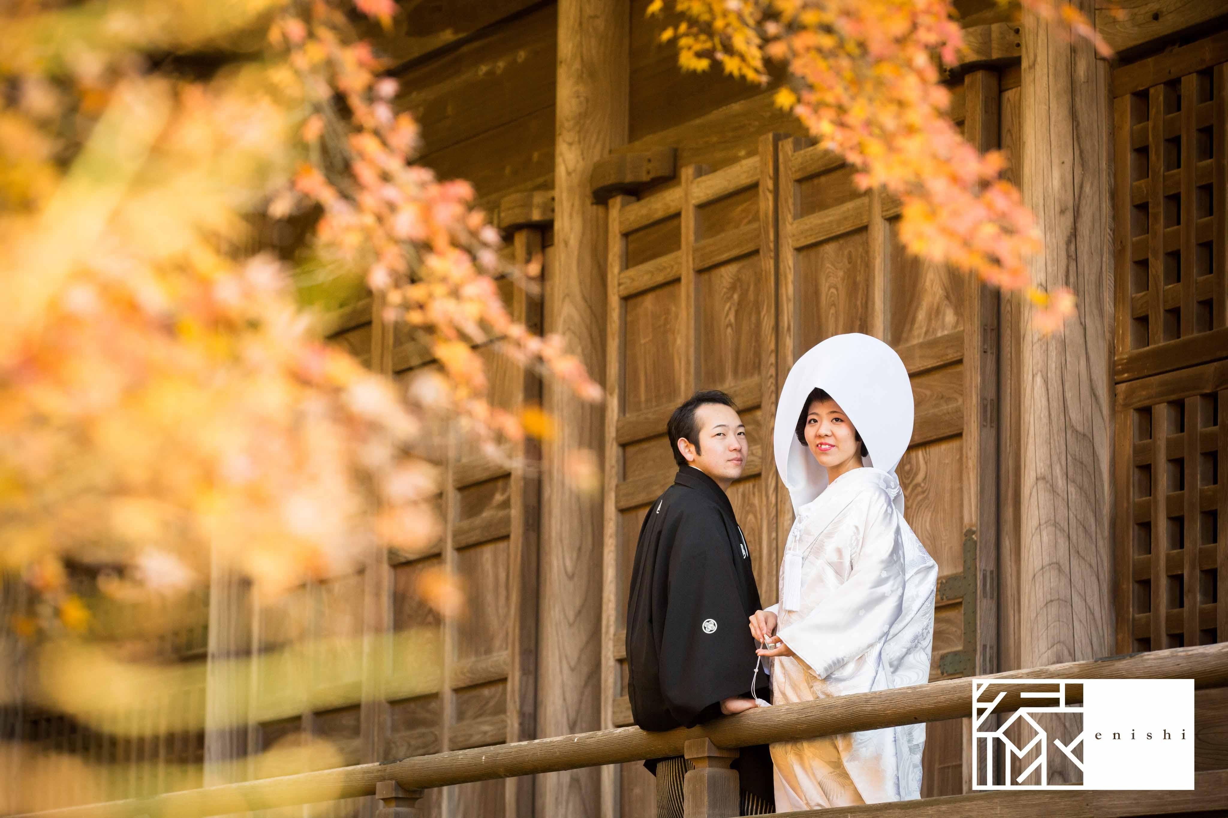 鎌倉和装紅葉前撮りフォト婚縁04