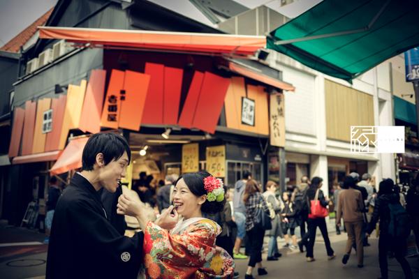 鎌倉和装前撮り小町通り縁07_1