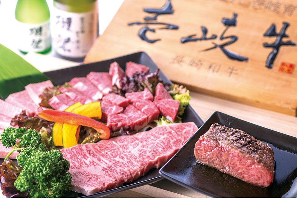 a 壱岐牛 焼肉