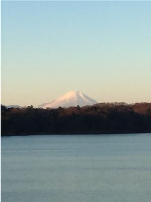 元旦の冨士山