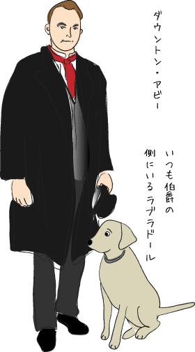 ダウントン・アビーの犬