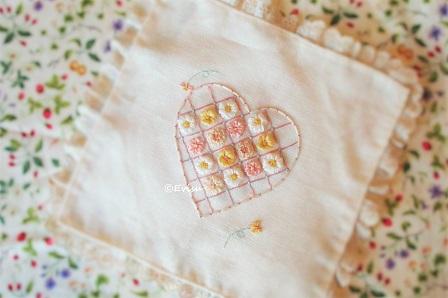 ちびサイズリボン刺繍