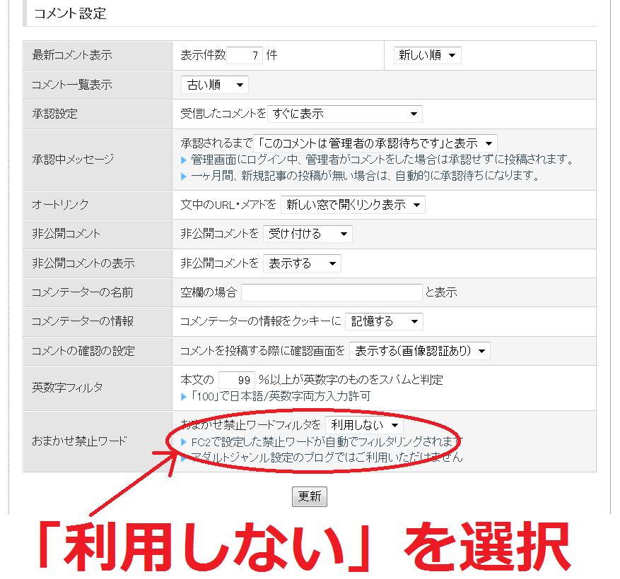 FC2ブログの禁止ワードを回避して投稿する方法2