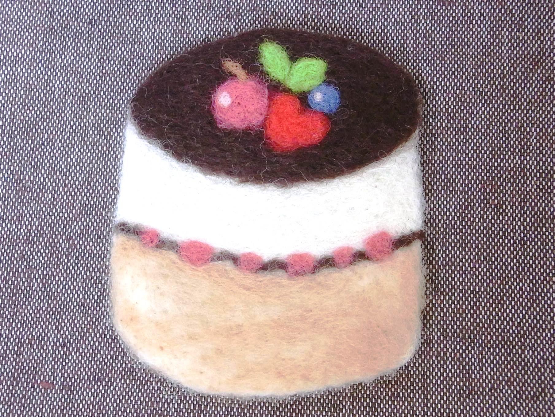 チョコケーキマット