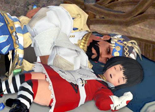 おかっぱの幼女と眠る