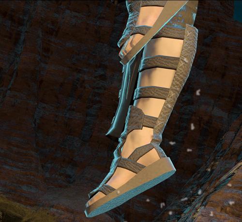サンクレッドの脚