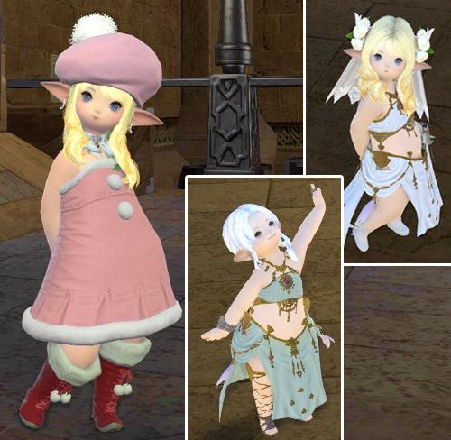 ララ子サンタと踊り子衣装
