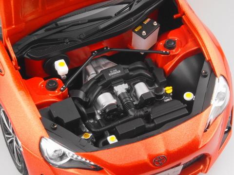 BRZ_tS_トヨタ86のエンジン部分