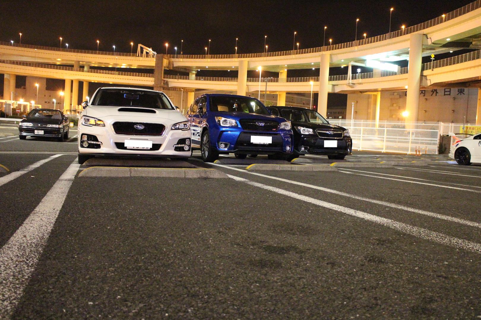 3台ノーライト②