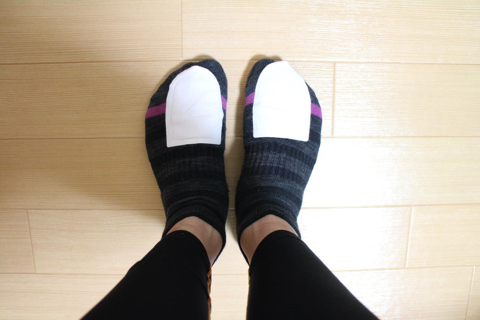 靴下とカイロ
