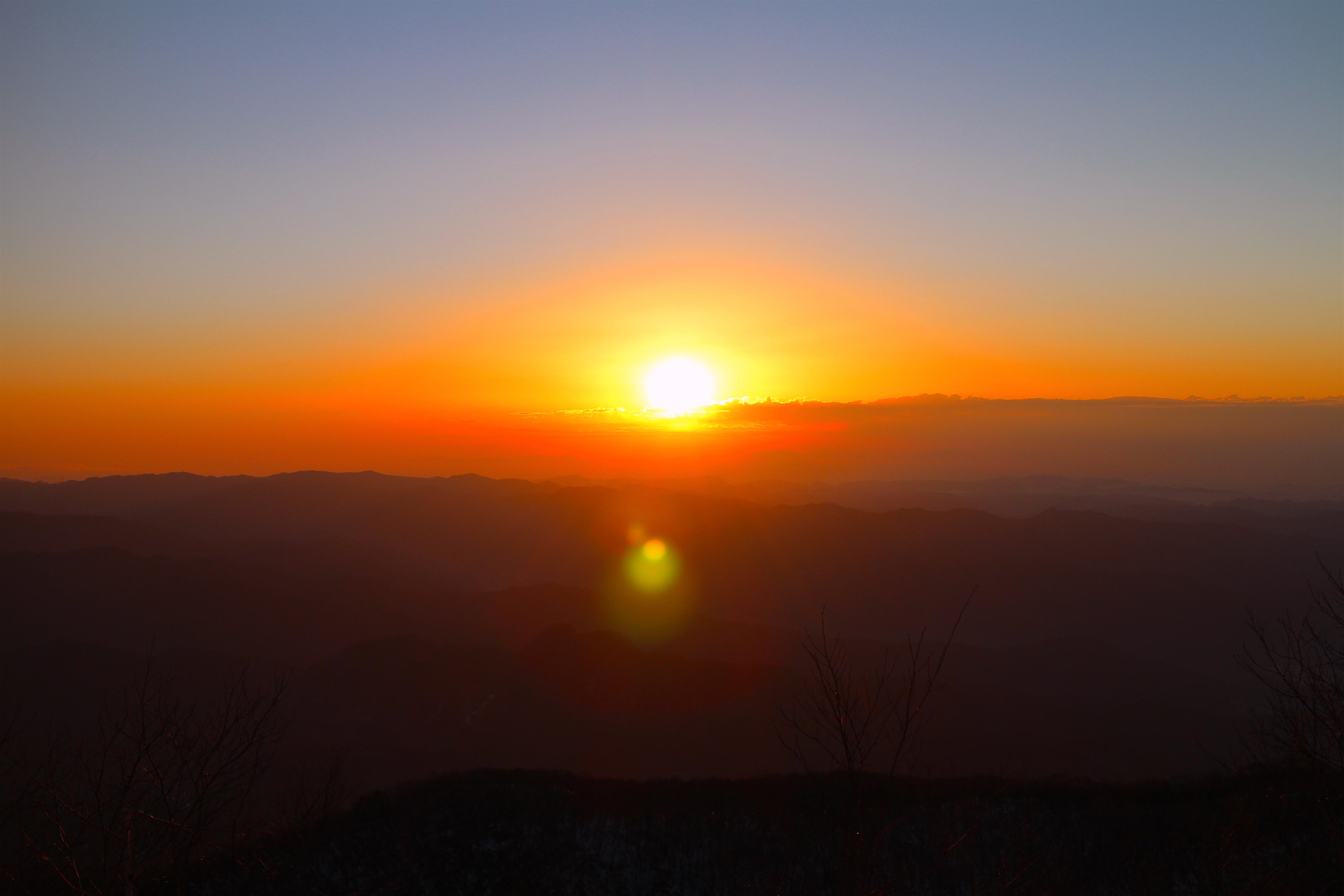 赤城山日の出
