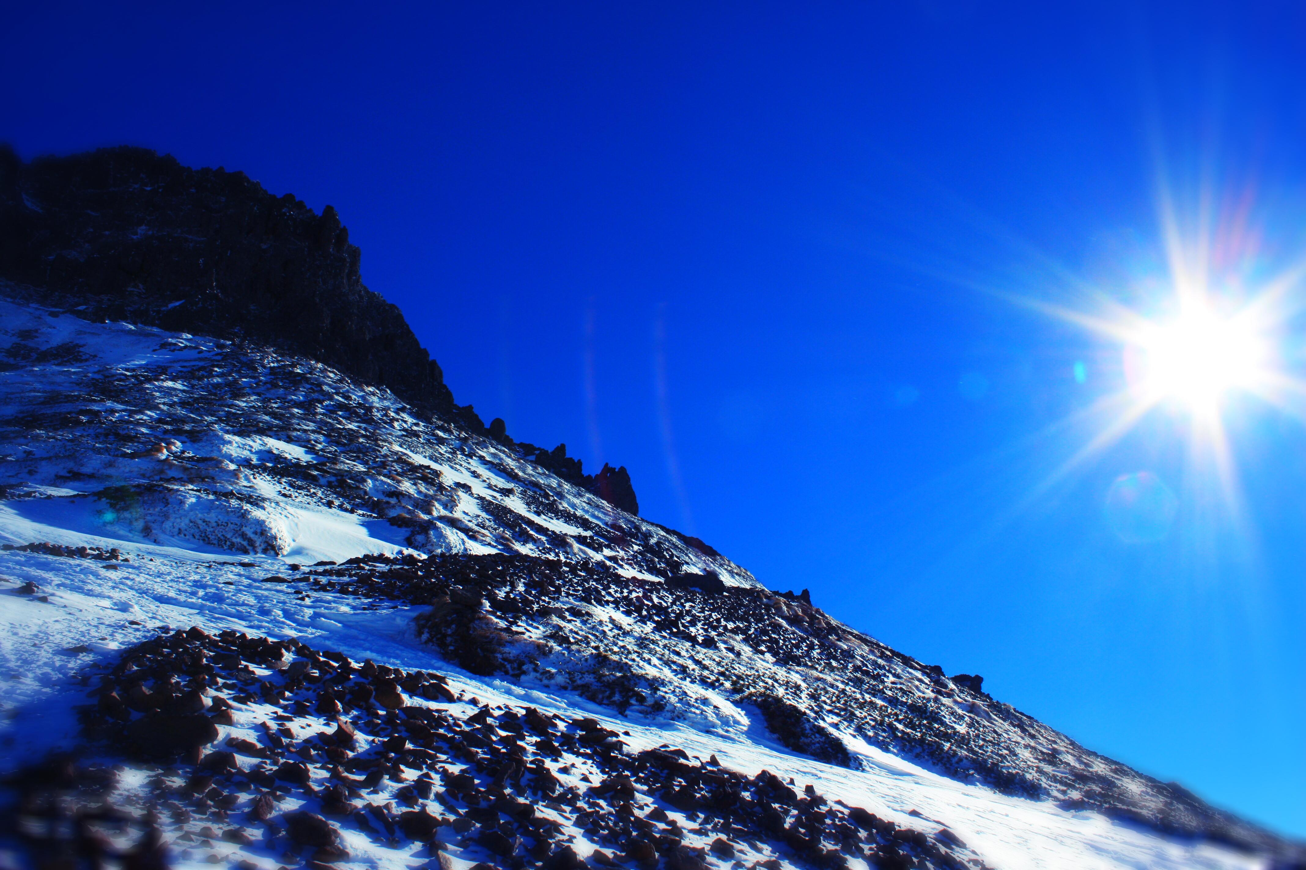 阿弥陀岳稜線