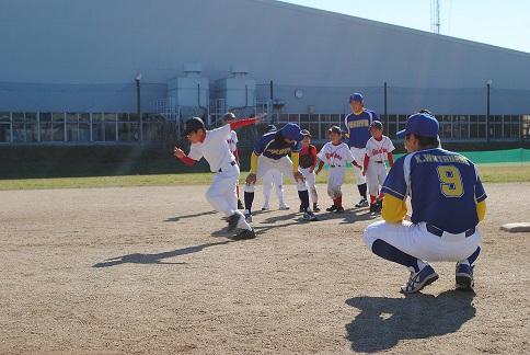 野球教室3