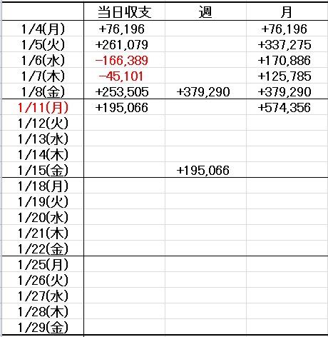 収支表2016画像1