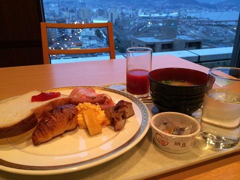8ホテル朝食2