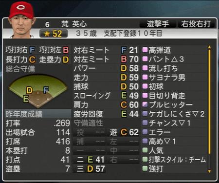 梵栄心 プロ野球スピリッツ2015 ver1.10