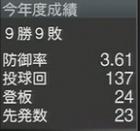 能見篤史2016年 プロスピ2015